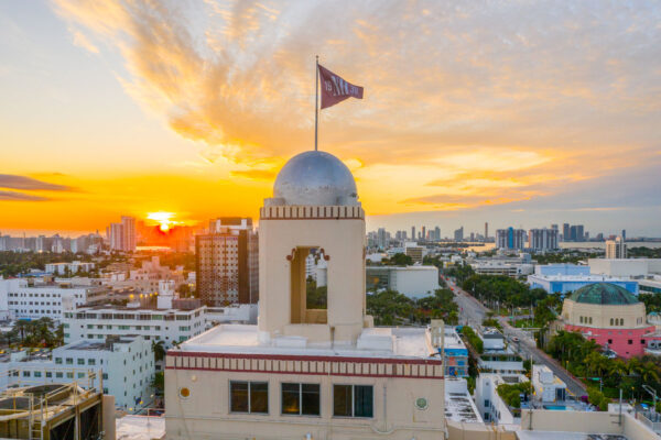 Dome of The National Hotel Miami Beach