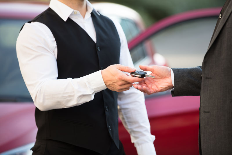 Valet Parking at the National Hotel
