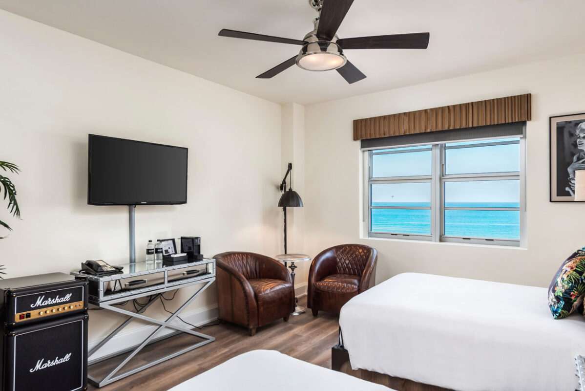 Ocean View Room 2 Beds National Hotel Miami Beach